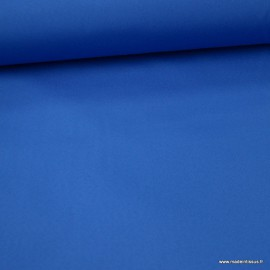 Tissu extérieur polypro bleu capri