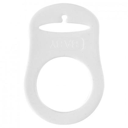 Anneau en silicone transparent pour attache-tétine
