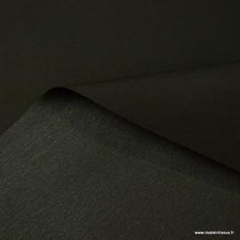 Tissu Gabardine enduite étanche Chocolat