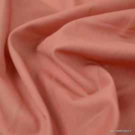 Tissu Voile de coton Marsala - Bio GOTS