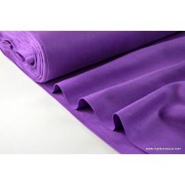 tissu feutrine violet polyester par 50cm