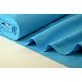 tissu feutrine turquoise polyester .