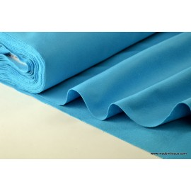 tissu feutrine turquoise polyester par 50cm