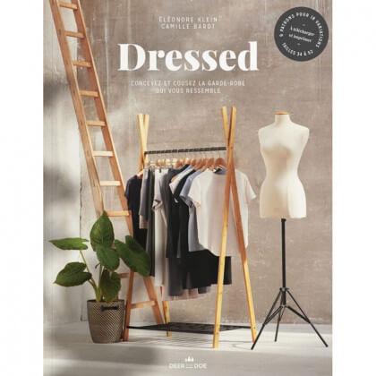 """Livre de couture """"Dressed"""" Concevez une garde robe qui vous ressemble - Deer and Doe"""