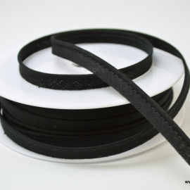 Passepoil 10 mm coton Noir