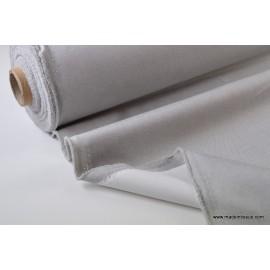 tissu occultant oxford gris clair .x 1m