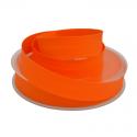 Biais replié 18 mm coton uni Orange - oeko tex