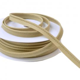 Passepoil 10 mm coton Sable