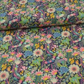 Tissu Popeline coton fleurs Solstice Flower bed - Windham Fabrics - Oeko tex