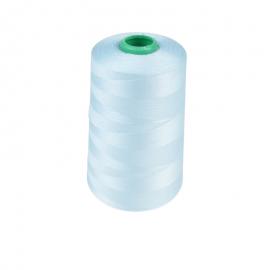 Cône de fil à coudre 100% polyester bleu ciel - 5000 m