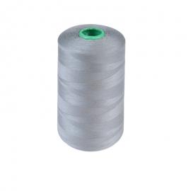 Cône de fil à coudre 100% polyester Gris foncé - 5000 m