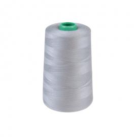 Cône de fil à coudre 100% polyester Gris - 5000 m