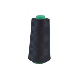 Cône de fil à coudre 100% polyester Noir - 2500m