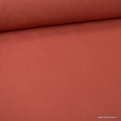 Tissu cretonne coton Tomette - Oeko tex