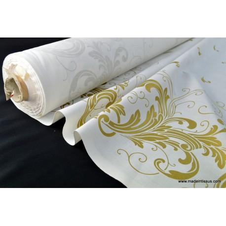 Tissu pour décoration nappes de noel