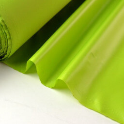 Tissu polyester anis déperlant pour parapluie .