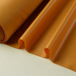 Tissu polyester potiron déperlant pour parapluie .