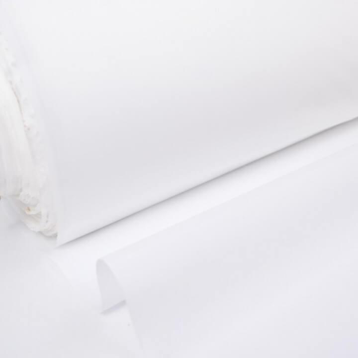 Tissu Toile Blanche déperlant 100% polyester DESTOCKAGE