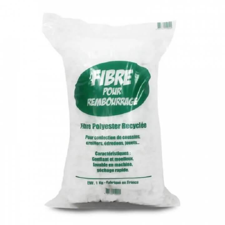Sac de Rembourrage fibre de polyester recyclées 1kg