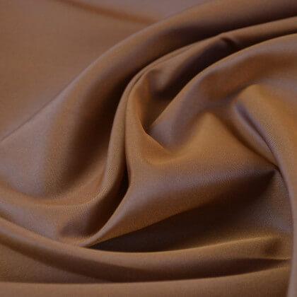 Tissu Taffetas changeant polyester beige bleu