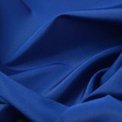 Tissu Taffetas changeant polyester bleu noir