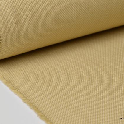 Tissu extérieur polypro natté beige