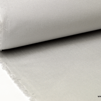 Tissu extérieur polypro gris perle