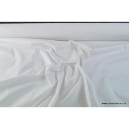 Toile à draps coton blanc