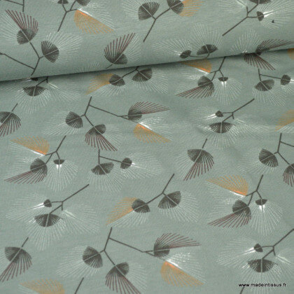 Tissu jersey Bio motifs - Oeko tex et Organic