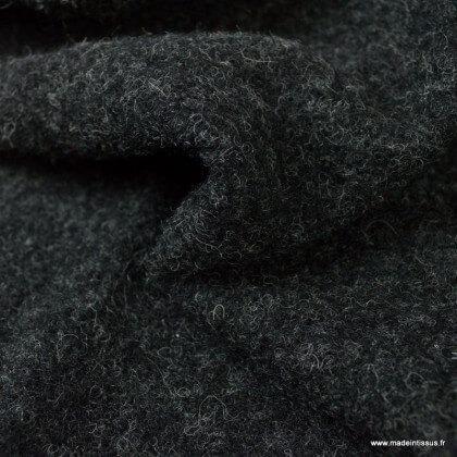 Laine bouillie gris anthracite mélangé