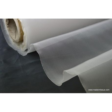 Tissu moustiquaire blanc par 50cm