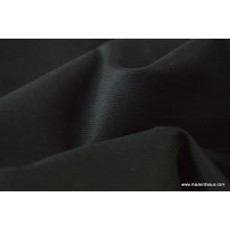 Tissu gabardine costume et confection noir