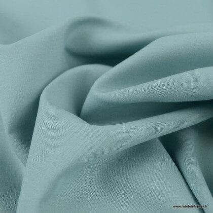 Tissu Gots Popeline en coton Bio & oeko tex coloris Menthe