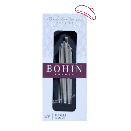 Aiguilles à REPRISER assorties 1 à 11 Bohin