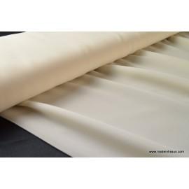 Crêpe georgette vanessa coloris Ivoire 100% polyester 150cm 95gr/m² .