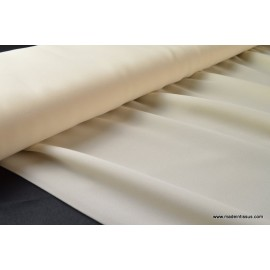 Crêpe georgette vanessa coloris Ivoire 100% polyester 150cm 95gr/m²
