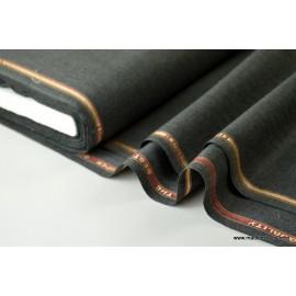 Tissu gabardine costume et confection gris . x1m