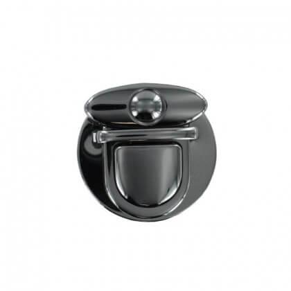 Attache Cartable finition nickel Noir diam 31mm