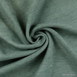Tissu isolant thermique occultant celadon