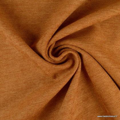 Tissu isolant thermique occultant camel