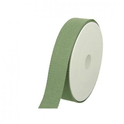 Sangle Lurex vert tilleul 30mm pour sac