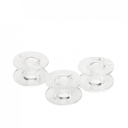 Canettes plastiques plates pour machine à coudre - 15K - lot de 3