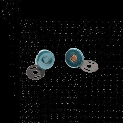 Bouton magnétique 18mm finition Bronze Bohin
