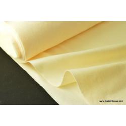 tissu feutrine ivoire polyester pour loisirs créatifs .x 1m