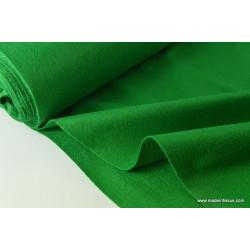 Feutrine vert polyester pour loisirs créatifs