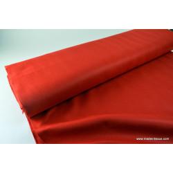 Feutrine rouge polyester pour loisirs créatifs .x 1m