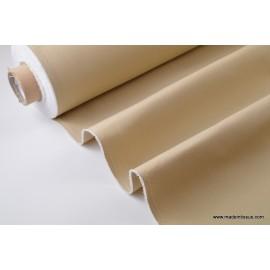 Tissu bâche coloris BEIGE traité Téflon
