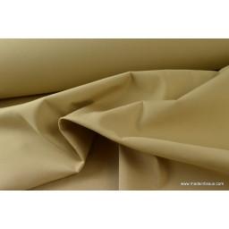BACHE UNIE coloris BEIGE 150cm 50%polyester 50%coton TEFLON