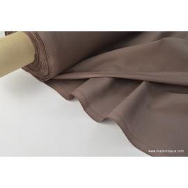 Toile à draps coton chocolat .x 1m