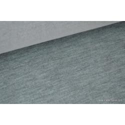 JERSEY vert chiné gris mi-lourd pour t-shirt .x1m